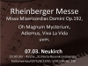 TonArt präsentiert - Rheinberger Messe