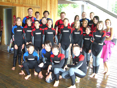 Ferienspiele Wasserski 2010